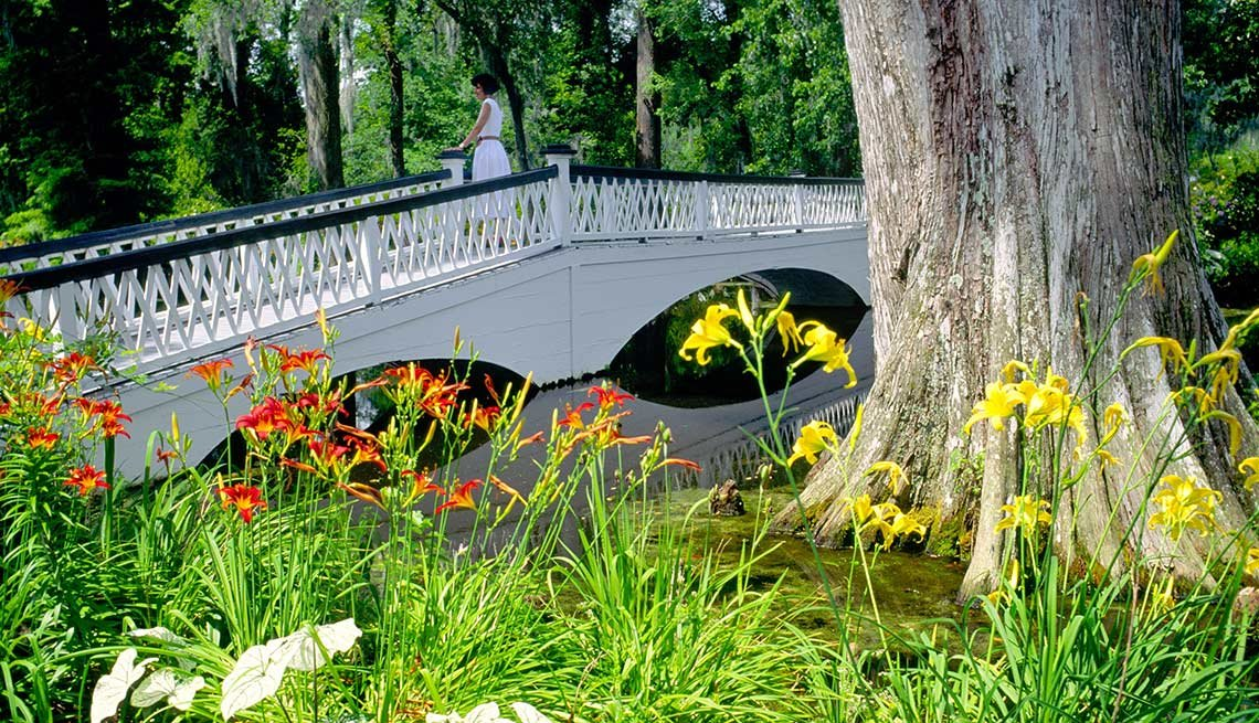 Los jardines más hermosos de Estados Unidos - Jardines y Plantación Magnolia