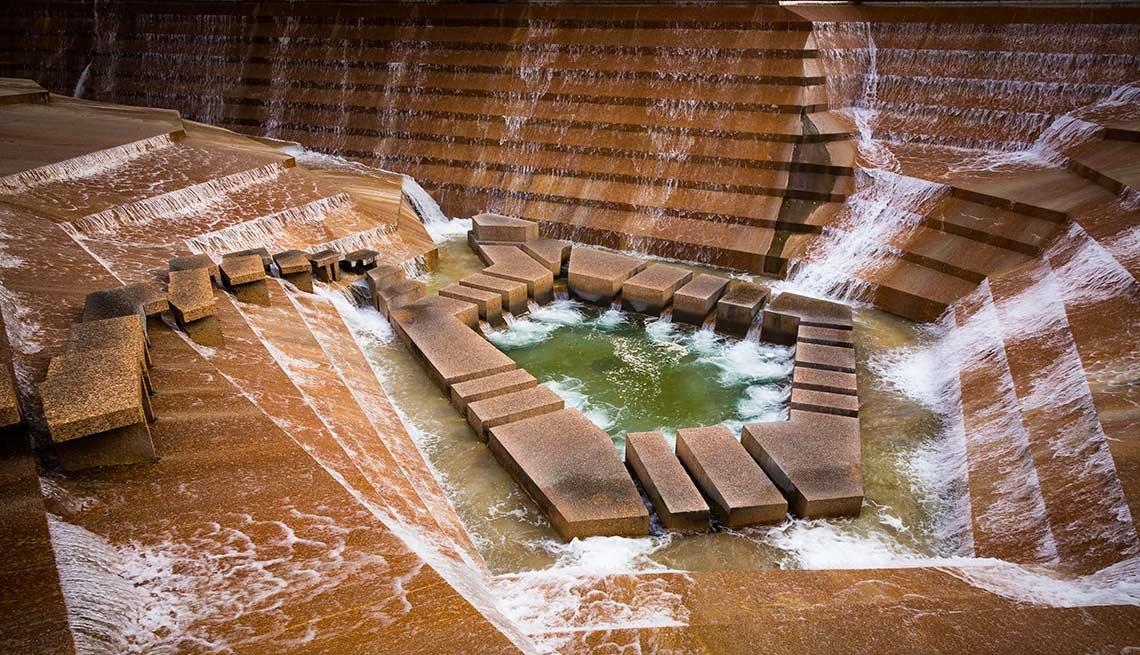 Los jardines más hermosos de Estados Unidos - Jardines acuáticos de Fort Worth