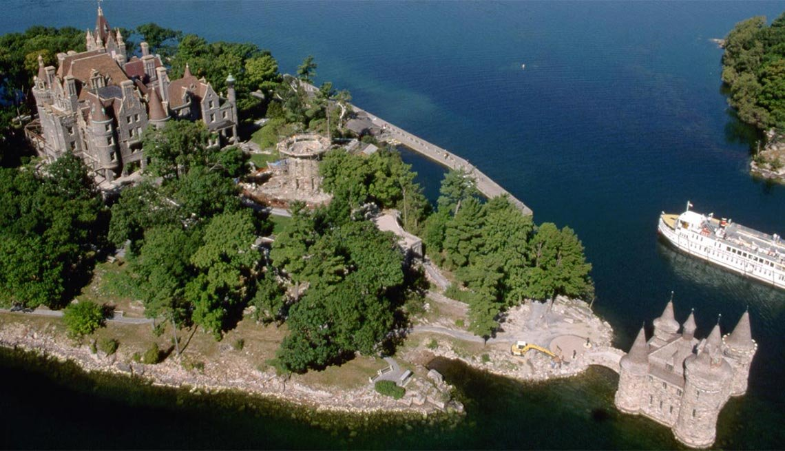 Boldt Castle, Heart Island, Thousand Islands, N.Y.