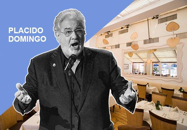 Restaurante Pampano de Plácido Domingo