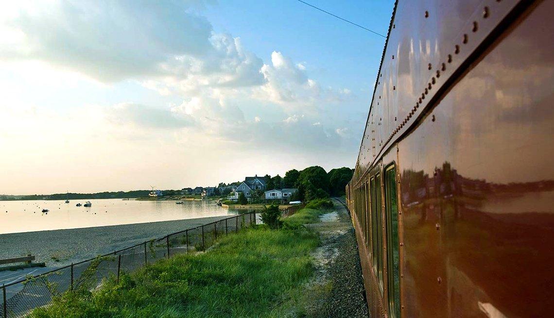 Tren Cape Cod Central Railroad