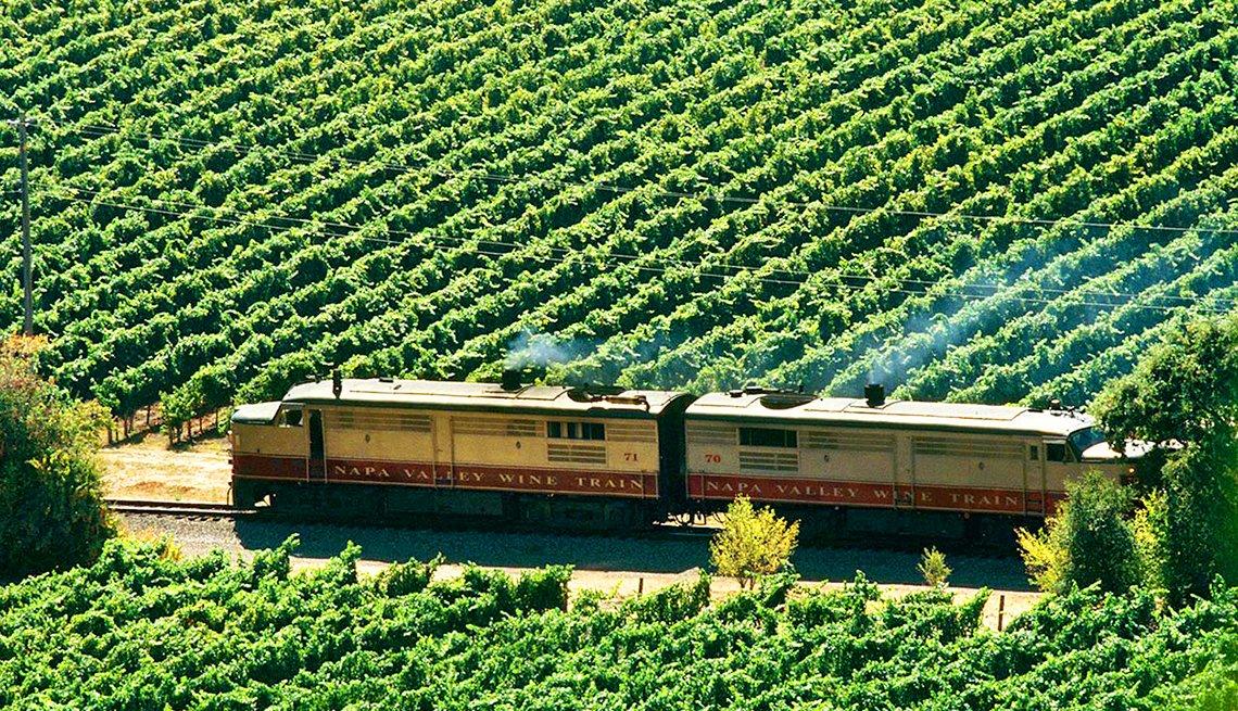 Tren del vino de Napa Valley