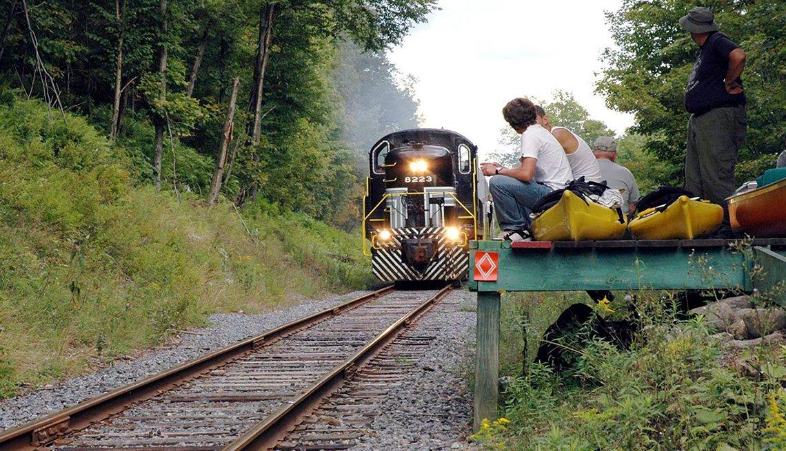 Tren escénico Adirondack