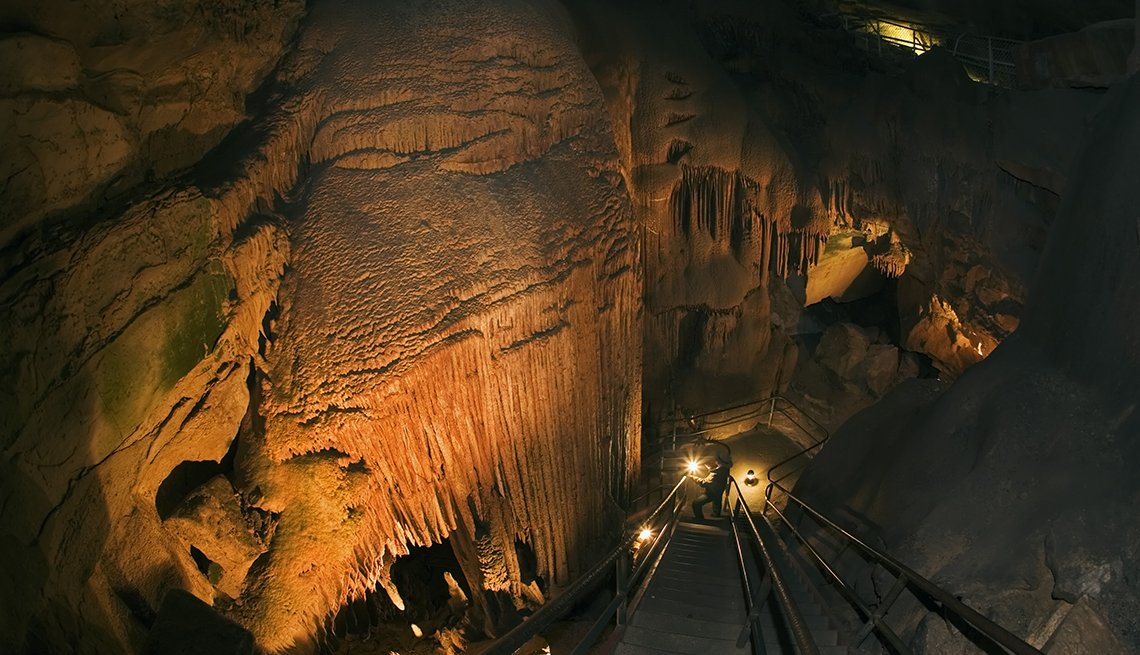 Mammoth Cave, Kentucky - 10 maravillas naturales en Estados Unidos