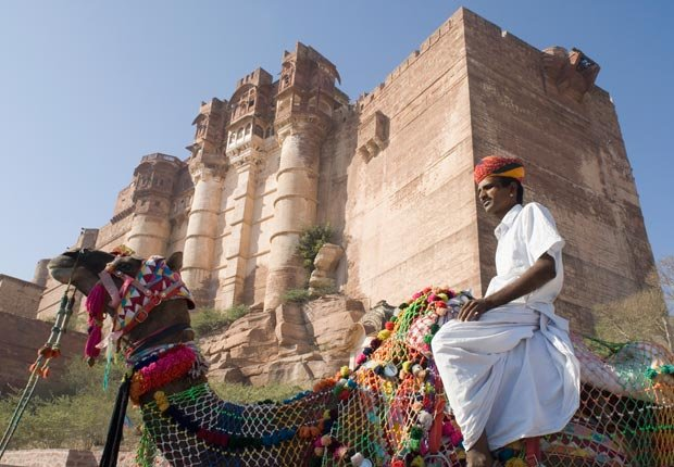Fuerte Mehrangarh en Jodhpur, India - Los mejores castillos del mundo