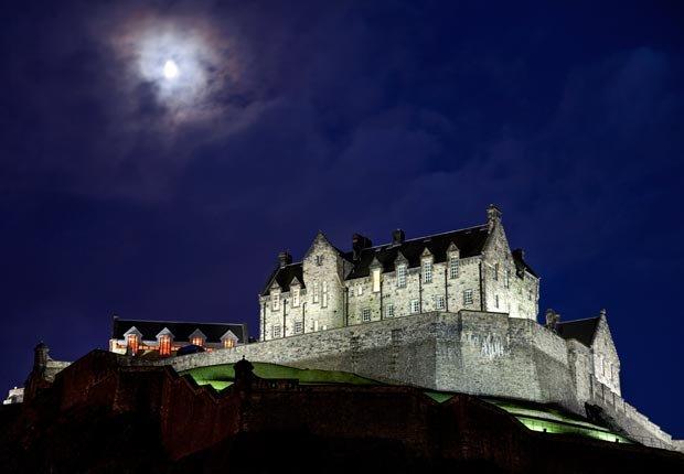 Castillo Edinburgh en Escocia - Los mejores castillos del mundo
