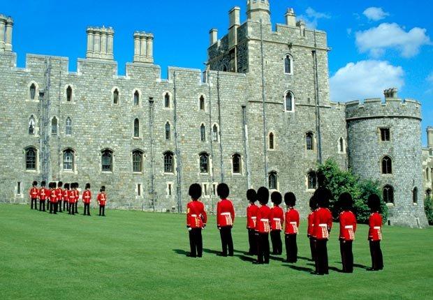 Castillo Windsor, Londres - Los mejores castillos del mundo