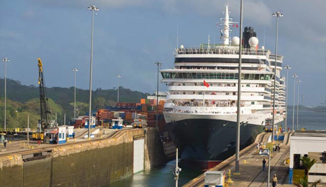 Crucero llega a canal, 10 hechos inusuales sobre el Canal de Pan,Crucero llega a canal, 10 hechos inusuales sobre el Canal de Pan