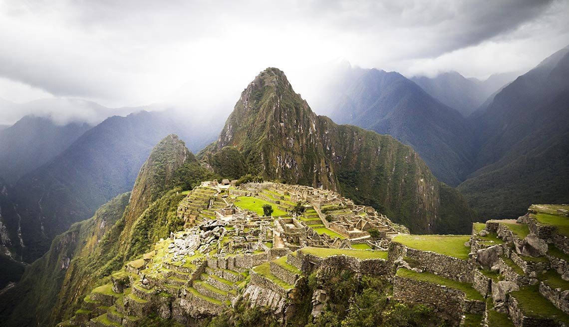 Machu Picchu Inka Ruins, Captivating Peru: Inca Trails, Beaches and Gastronomy