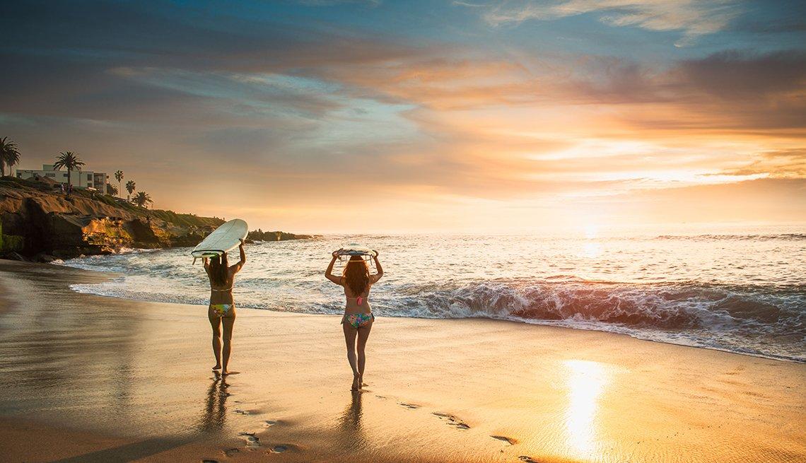 Escapes turísticos para mujeres