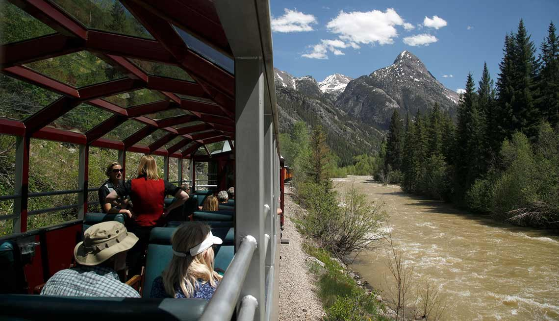 The Durango & Silverton Narrow Gauge Railroad
