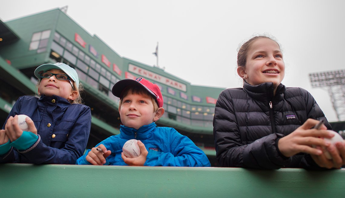 Fenway Park was built in 1912 and is Major League Baseball's oldest ballpark