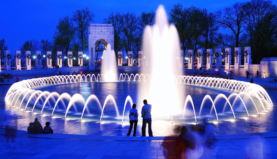 WWII Memorial on The National Mall Washington, DC