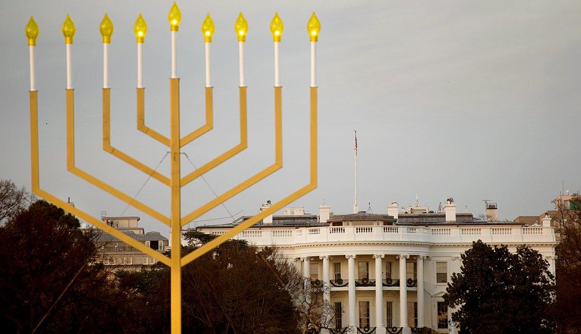 menorah lighting in Washington DC