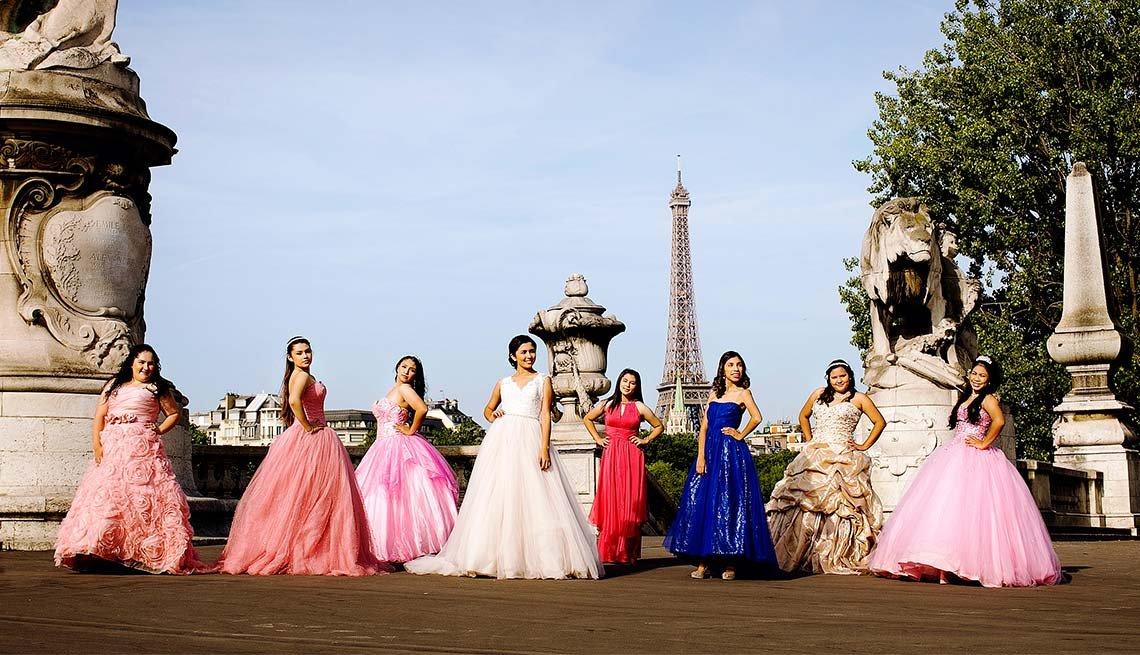 Viajaes para quinceañeras - Paris