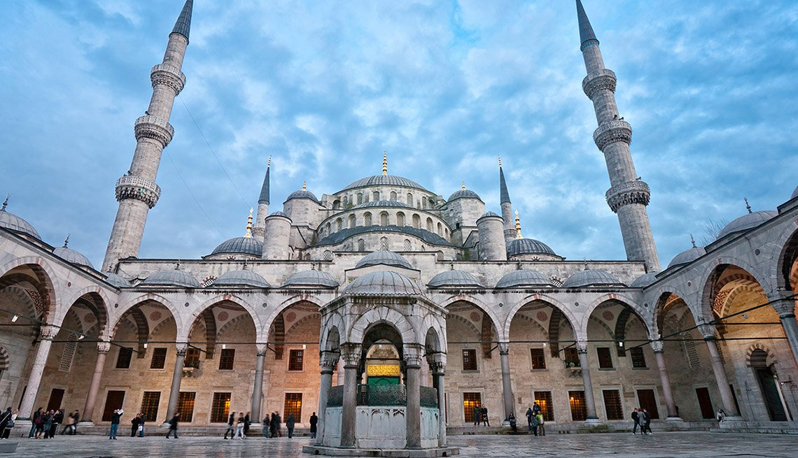 The Blue Mosque In Istanbul, Turkey, 10 Summer Destinations