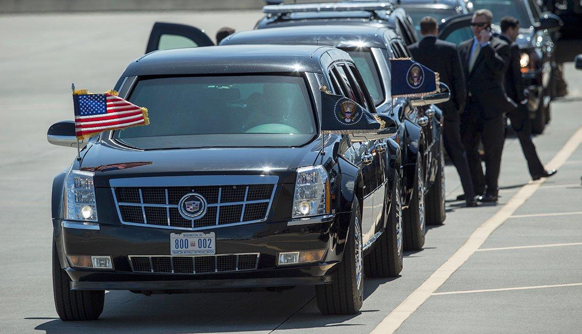 President Trump's Motorcade