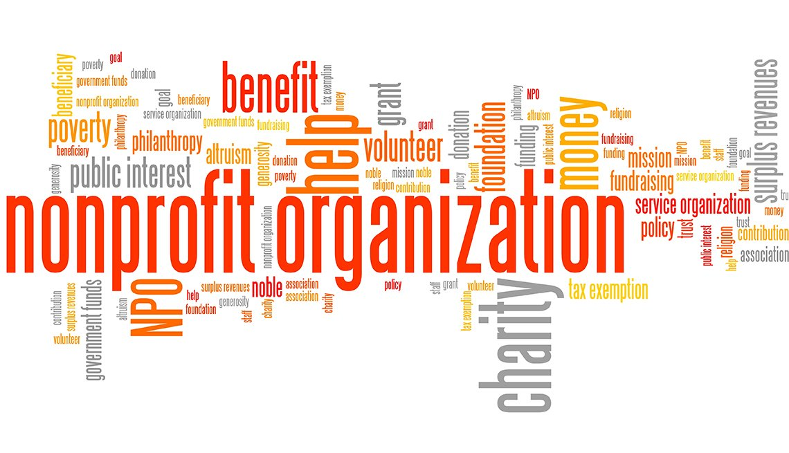 Nonprofit consulting word cloud
