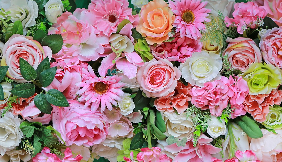 Flower Bouquet, Pink Blossoms, How a Passion for Flowers Blossomed Into a Business