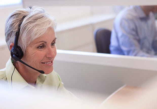 mature female customer service representative, Growing Jobs 2014