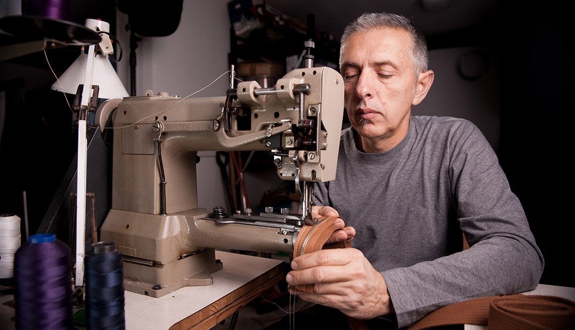 Sewing man, How to Make Money Using Your Natural Talents