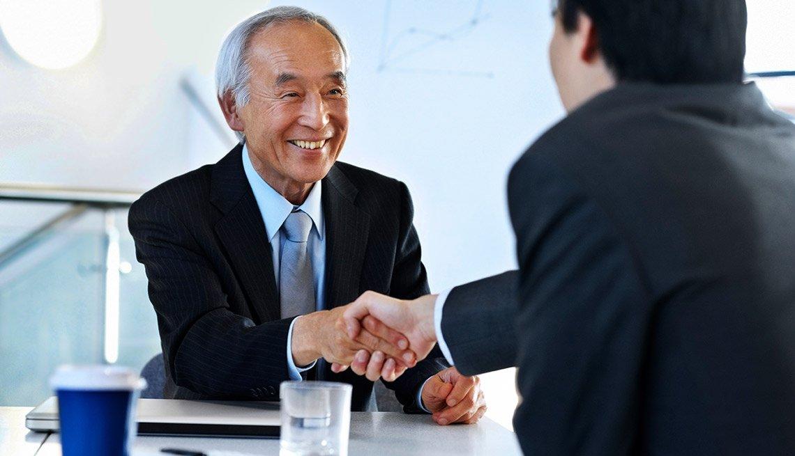 Successful job interview, The AARP Employer Pledge