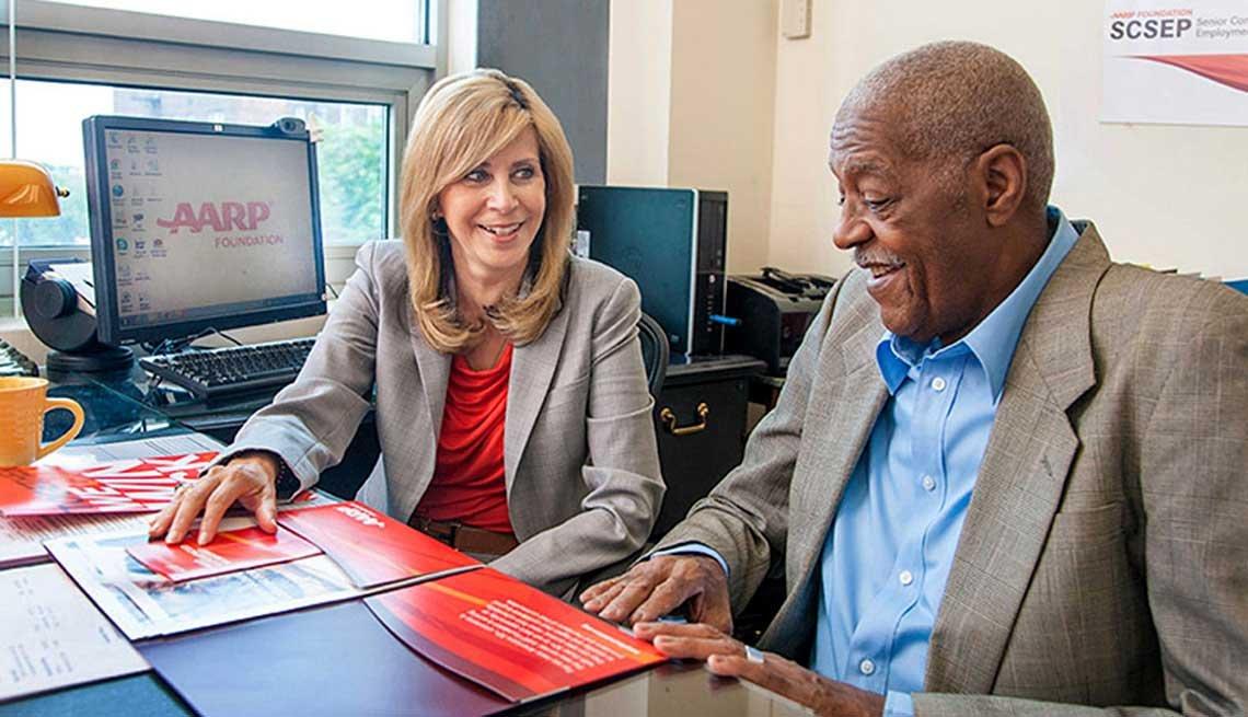 The SCSEP program helps get older adults back into the workforce.