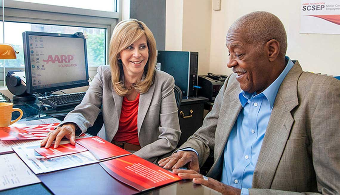 The SCSEP program helps get older adults back into the workforce.