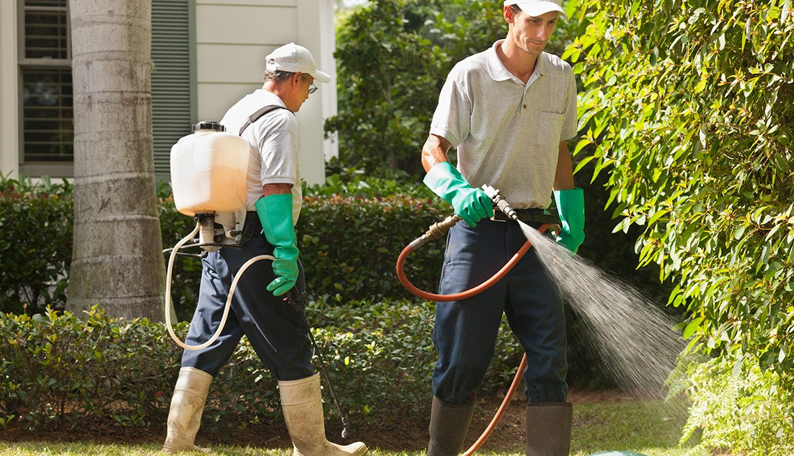 10 Great Jobs for workers over 50 - Eco-landscaper