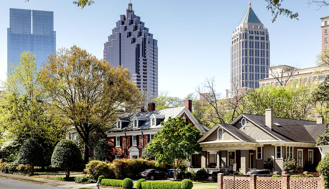 Top Cities for 50+ Job Seekers - Atlanta