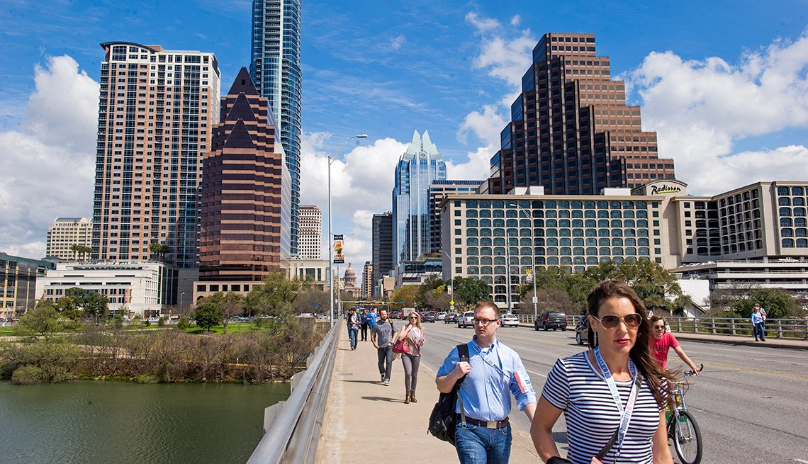 Top Cities for 50+ Job Seekers - Austin