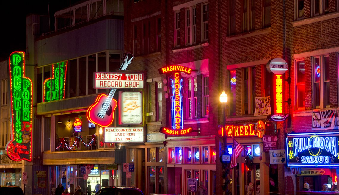 Top Cities for 50+ Job Seekers -  Nashville