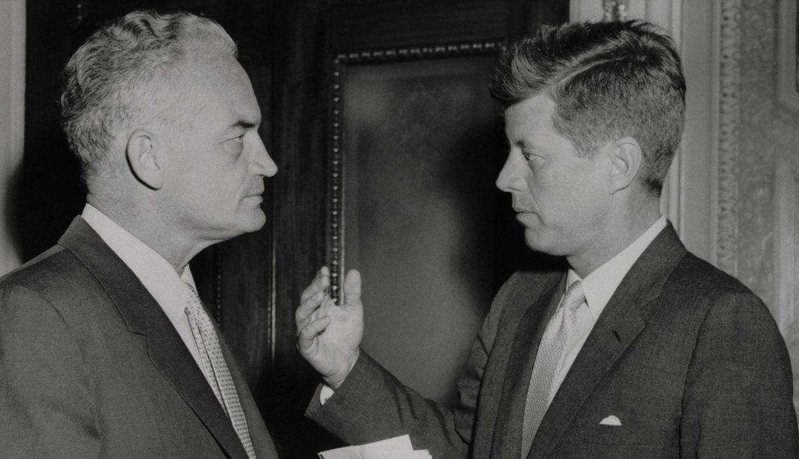 Barry Goldwater and John F. Kennedy, 1964 Presidential election, You are Creative,
