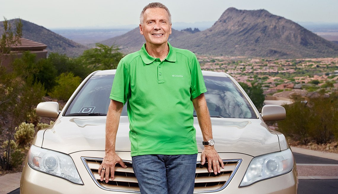 Uber driver, Jerry McLeod of Arizona