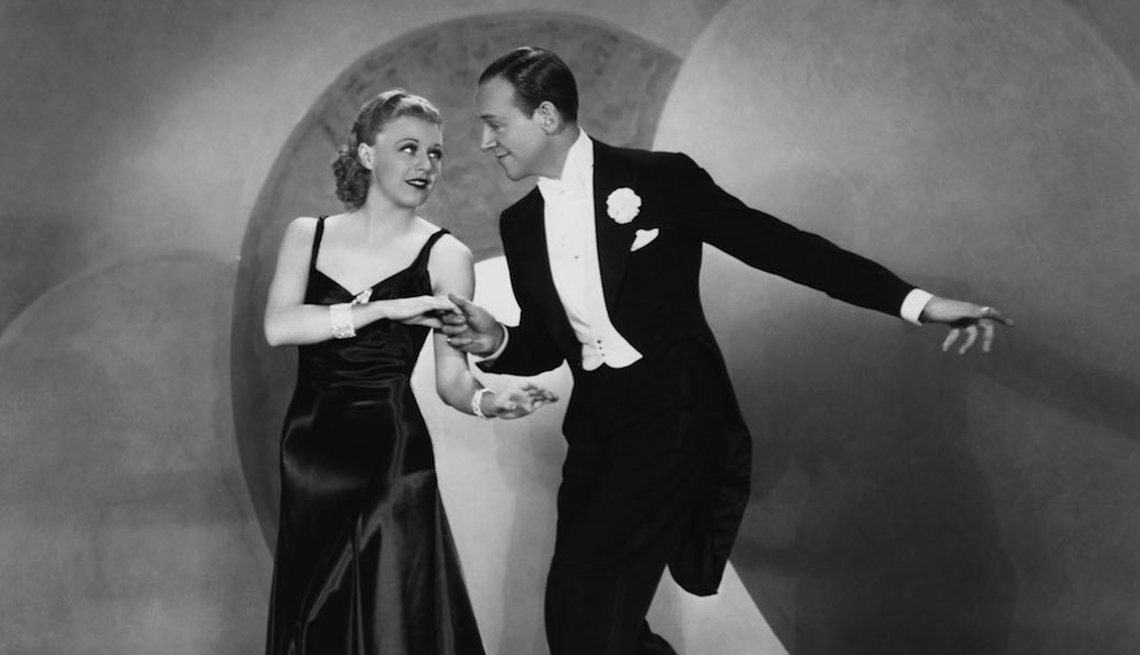 Fred Astaire and Ginger Rogers Ballroom Dancing