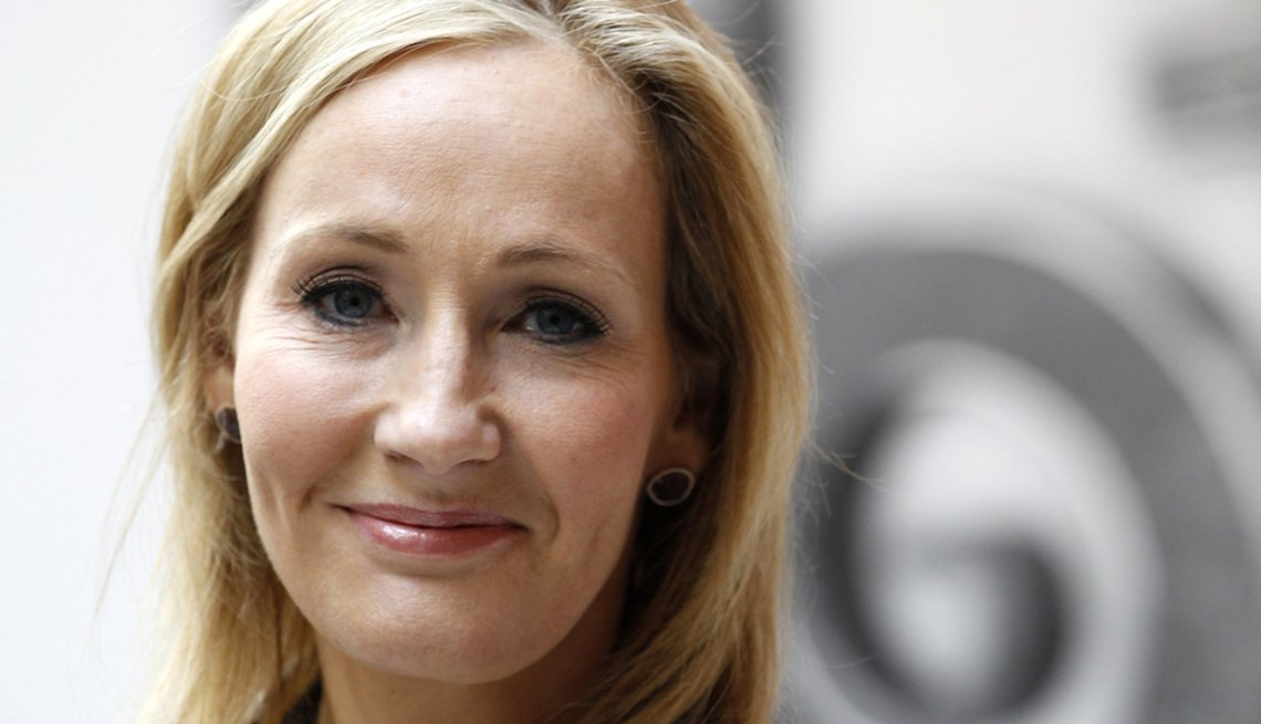 Author J.K. Rowling, Harry Potter book series, Failure is the New Success