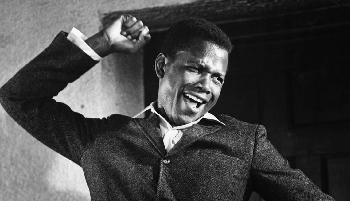 Actor Sidney Poitier in Lilies of the Field