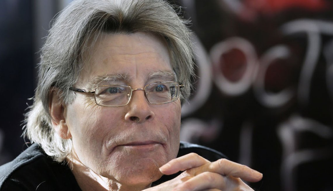 Author Stephen King, Failure is the New Success
