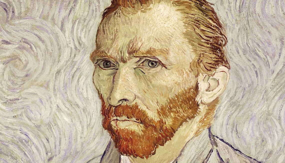 A self-portrait of painter Vincent Van Gogh, Failure is New Success,