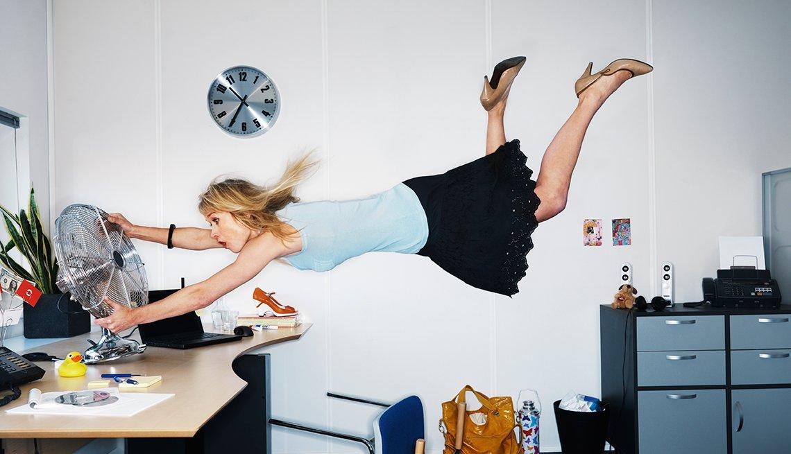 Menopausal Employees Desk Fans