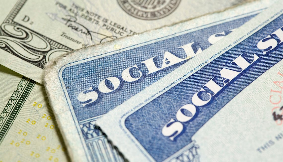Social Security card and money, AARP Social Security Mailbox Top 10 questions asked