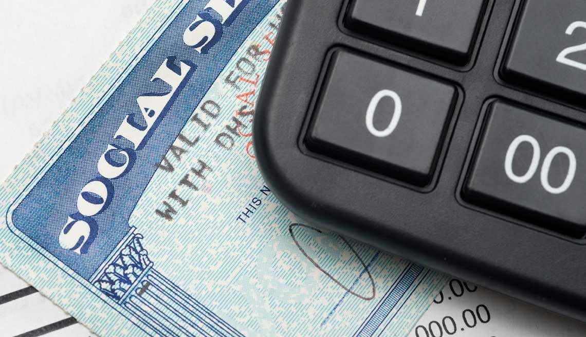 Social security and calculator