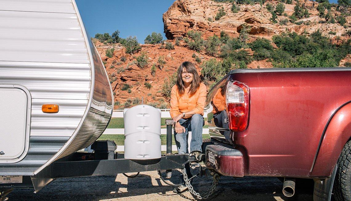 Work camper Michele Gray