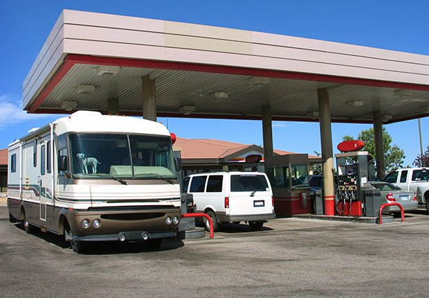 """Calculate  expenses. """"You have to really budget,"""" says Gross, a former software consultant who was working at a KOA campground in Fort Collins, Colorado, before heading east for a job in Miami.  """"To get there, our fuel alone will be $1,200."""""""