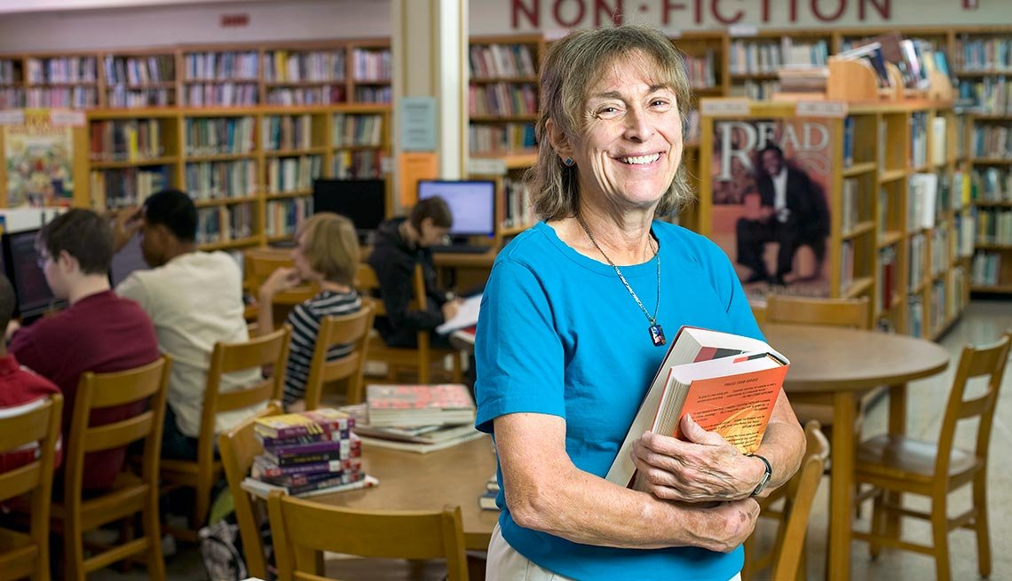 Librarian Sue Walbert, Part-Time Jobs