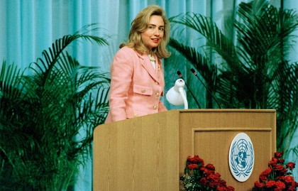 Hillary Clinton Addresses the UN