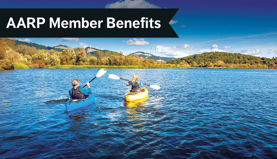AARP Member Benefits, Kayak