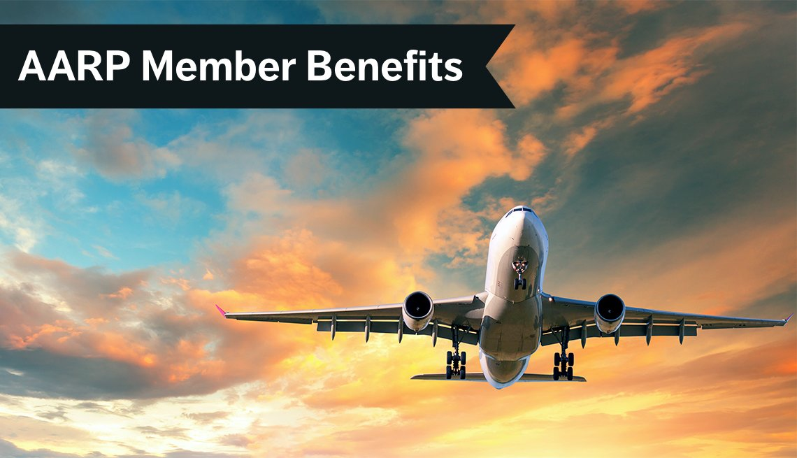 AARP Member Benefits, Airplane