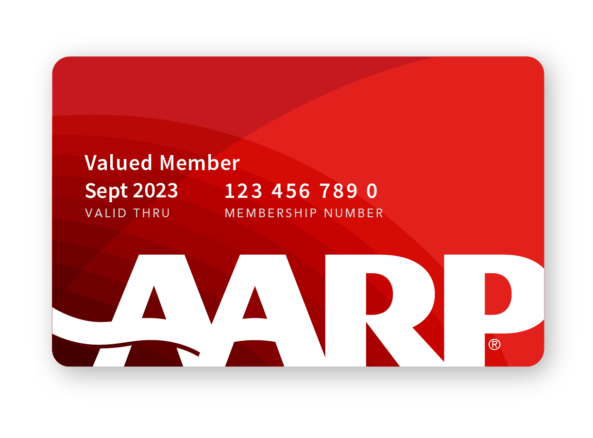 Valued Member AARP Membership Card