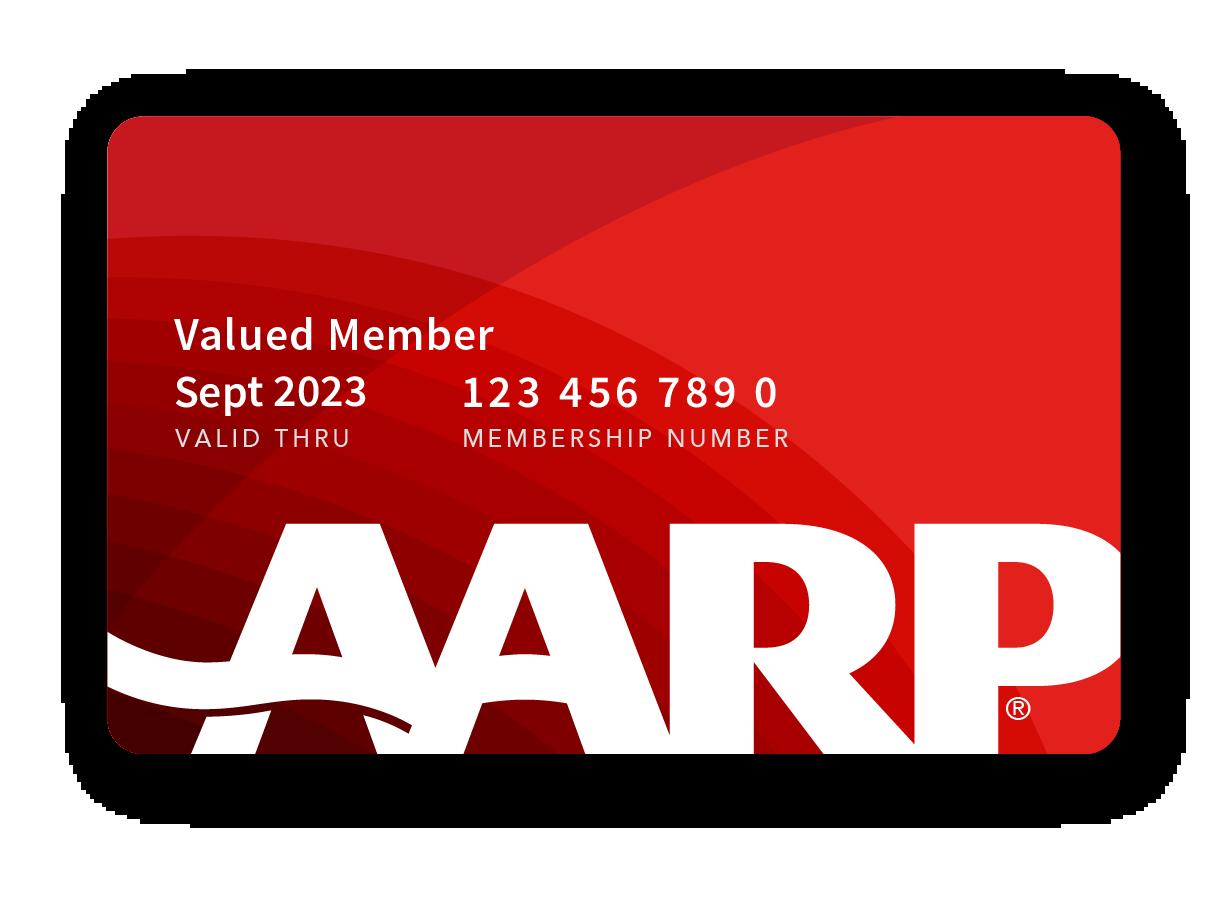 Valued Member AARP Membership Card